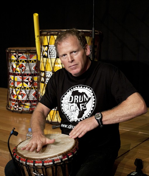 Brett Schlesinger Drumcafe, Barcelona, Spain