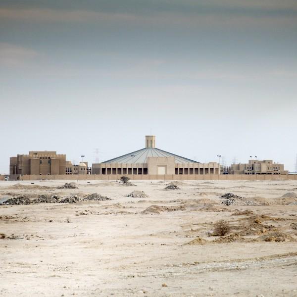 Kirche mitten in der Wüste