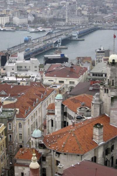 Aussicht vom Galata-Turm