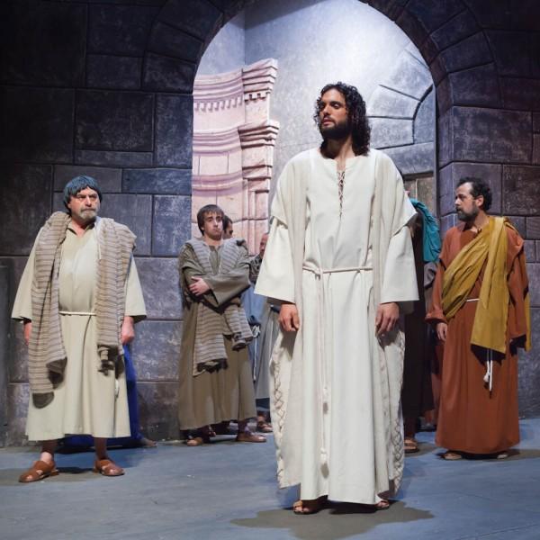 Jesus spricht mit den Pharisäern