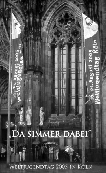 Domplatte Weltjugendtag 2005 in Köln