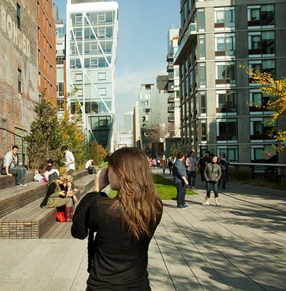 Besucher Highline