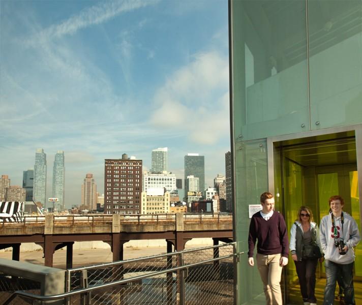 Aufzug zur Highline