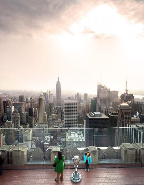 Aussichtsplatform Rockefeller Center