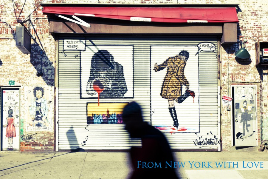 Streetart von Nick Walker - Meatpacking District