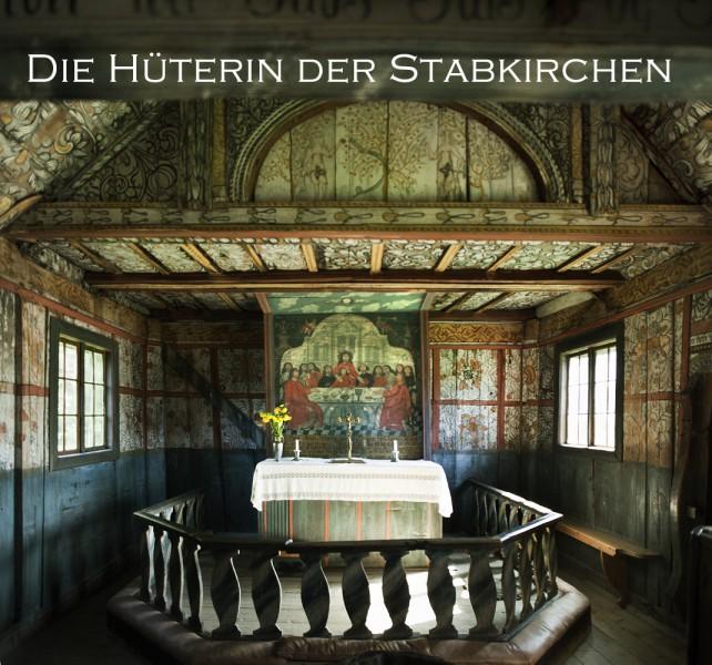 Uvdal Stabkirche von Innen