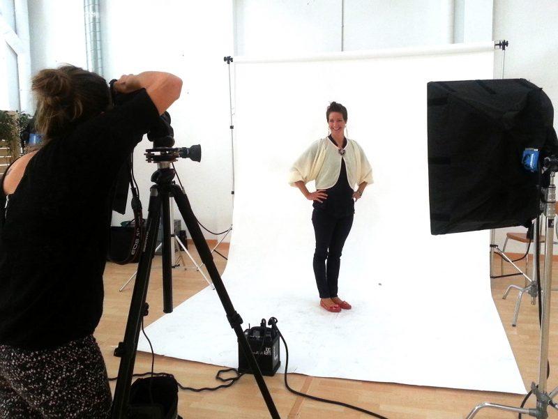 Mobile Studio for company portraits